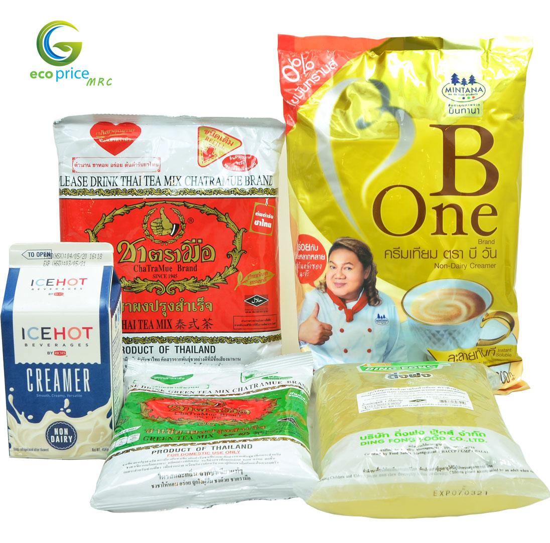 Combo Trà Sữa Thái- 6 lít trà sữa- 4 món- Ami