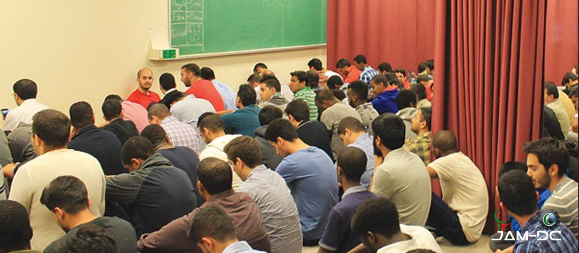 Новое место для молитвы в кампусе