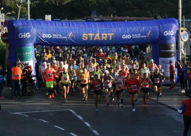 Salida Maratón Malta Travelmarathon.es