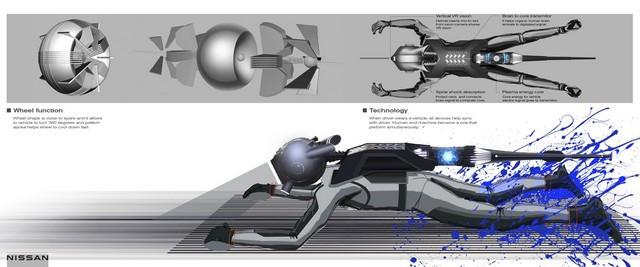 Nissan « GT-R(X) 2050 » : Le Projet D'un Stagiaire Devient Réalité 12-Nissan-JB-Choi-Final-08-DEC2020-10-source