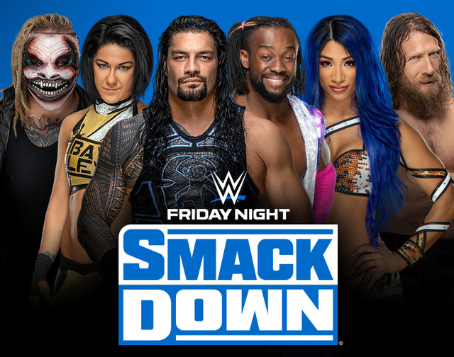 WWE Friday Night Smackdown 25th September 2020 Download