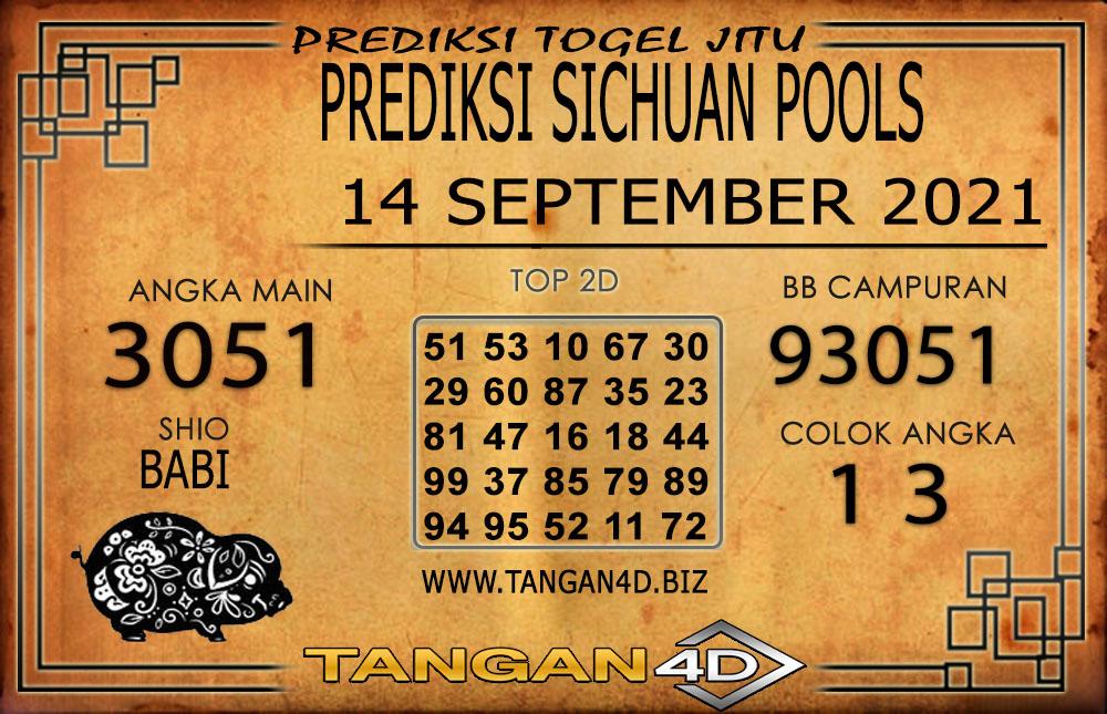PREDIKSI TOGEL SICHUAN TANGAN4D 14 SEPTEMBER 2021