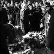 Dyatlov pass 10 march 1959 Igor Dyatlov funeral
