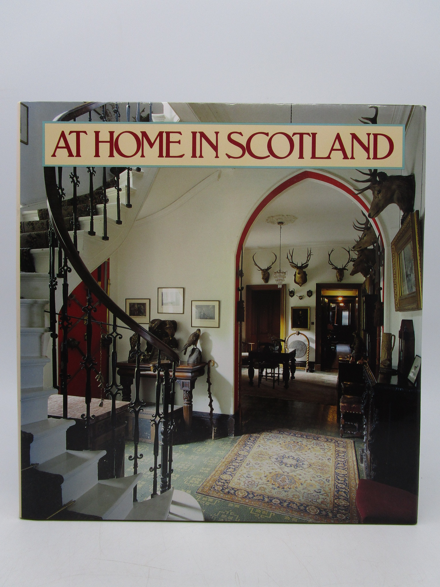 Image for At Home in Scotland (First Edition)
