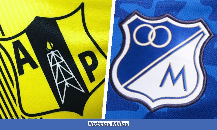 Alianza Petrolera y Millonarios juegan por Copa BetPlay 2021