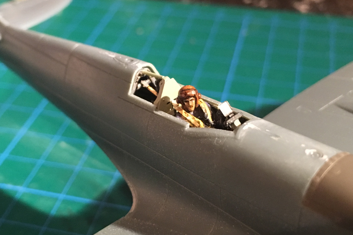 Spitfire Mk IX - Eduard 1:72 - Page 2 IMG-1566