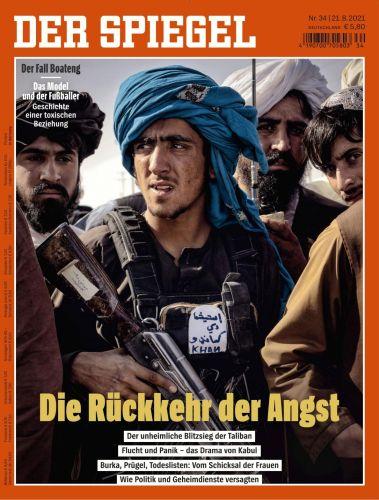 Cover: Der Spiegel Nachrichtenmagazin No 34 vom 21  August 2021