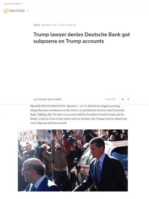 Reuters Lies