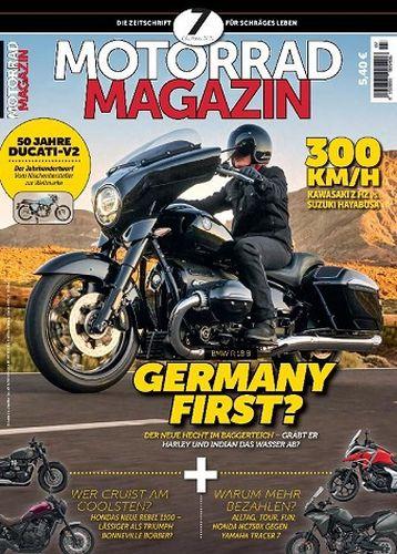 Cover: Motorrad Magazin No 07 Oktober-November 2021