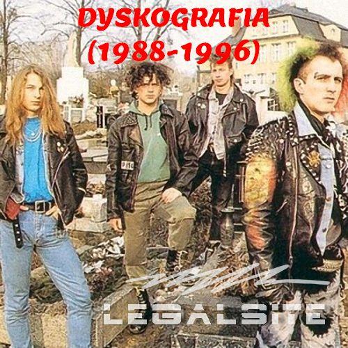 Psy Wojny - Dyskografia (1988-1996)