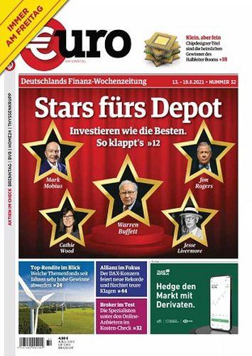 Cover: Euro am Sonntag Finanzmagazin No 32 vom 13  August 2021