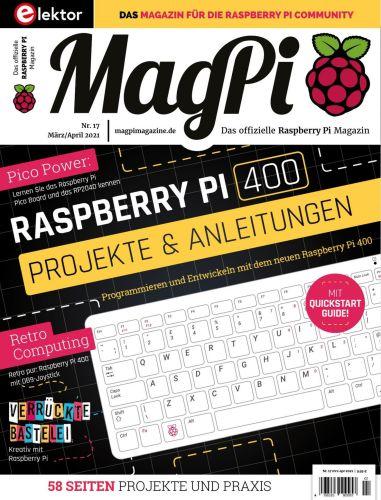 Cover: Chip MagPi Magazin No 17 März-April 2021