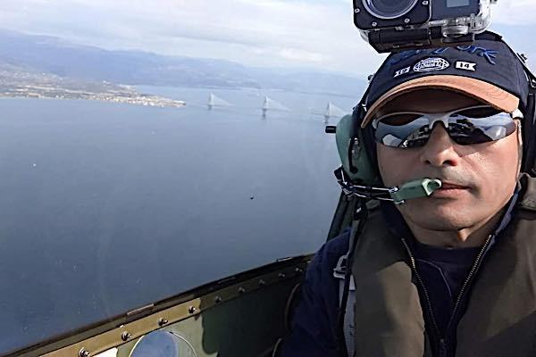 Πτώση μικρού αεροπλάνου στο Κρυονέρι Μεσολογγίου