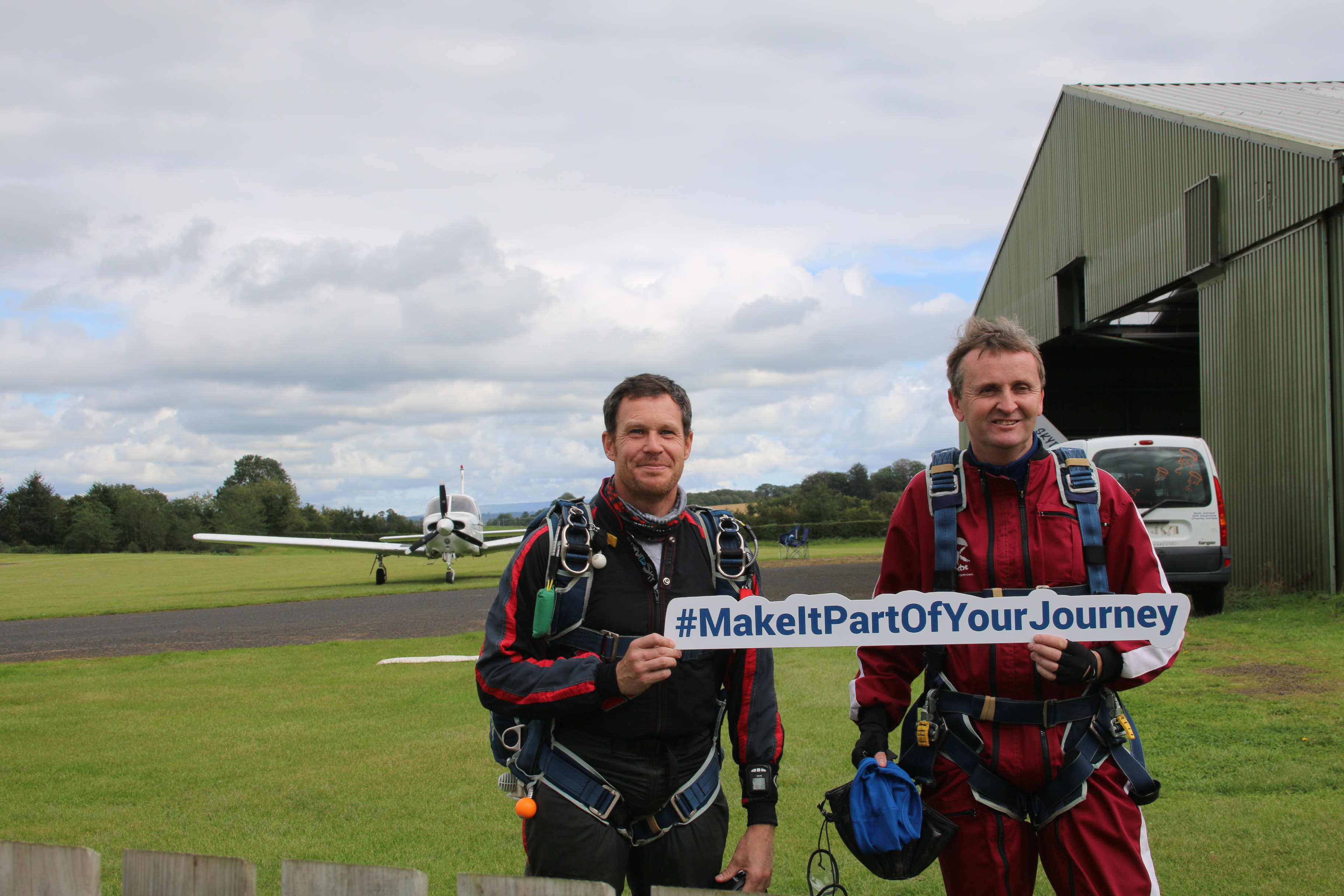 Colin Somers Skydive