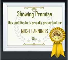 Most earnings