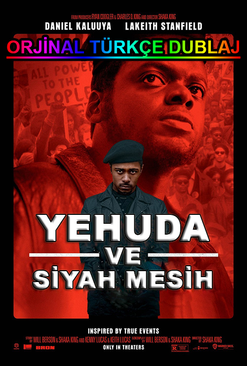 Yehuda ve Siyah Mesih | Judas and the Black Messiah | 2021 | BDRip | XviD | Türkçe Dublaj | 720p - 1080p - m720p - m1080p | BluRay | Dual | TR-EN | Tek Link