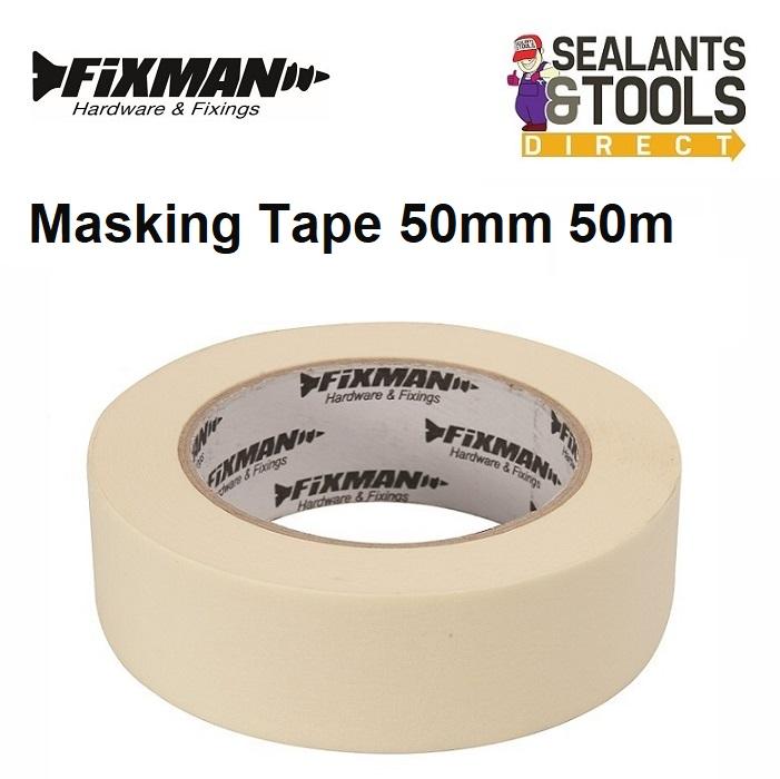 Fixman Masking Tape 50mm x 50m 187954