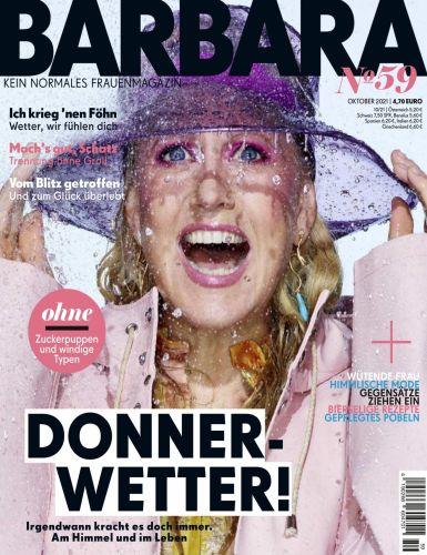 Cover: Barbara Kein normales Frauenmagazin No 59 Oktober 2021