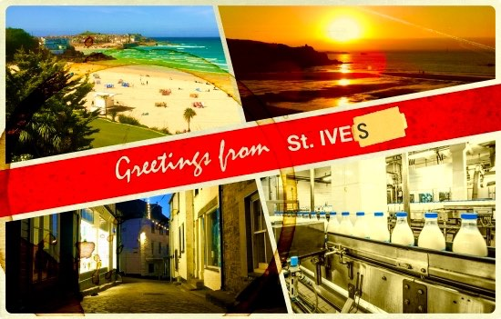 whatGreetings! from St. Ives.isit