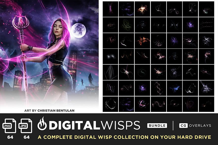 ultimate magic overlay bundle digital wisps