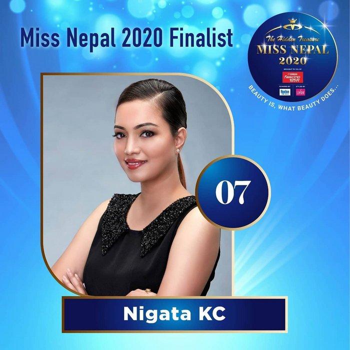CANDIDATAS A MISS NEPAL 2020. FINAL 3 DE DICIEMBRE. 7