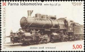 2008. year LOKOMOTIVE-PARNA-LOKOMOTIVA-SERIJE-M-V-651-J-31