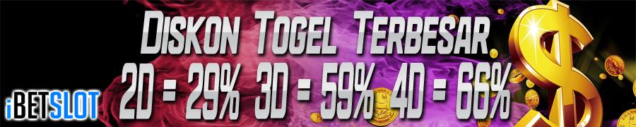 DISKON TOGEL TERBESAR