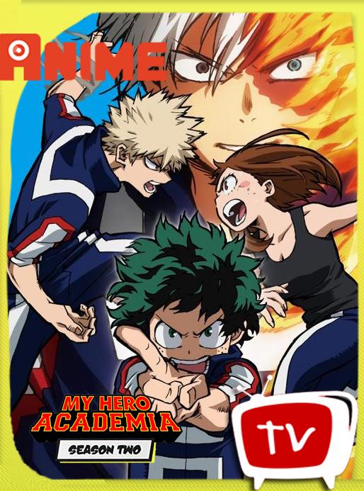 My Hero Academia Season 2 BD [1080p][FLAC][10bits] Subtitulado – kurosakikun0