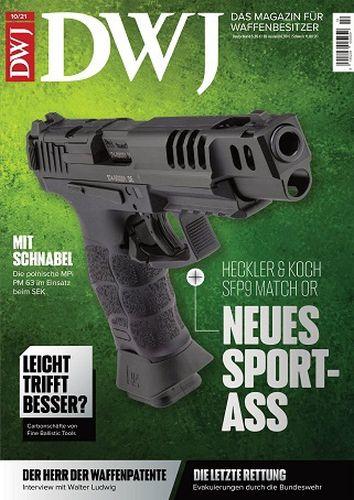 Cover: Dwj Magazin für Waffenbesitzer No 10 Oktober 2021