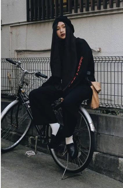 Японский современный хиджаб-стиль