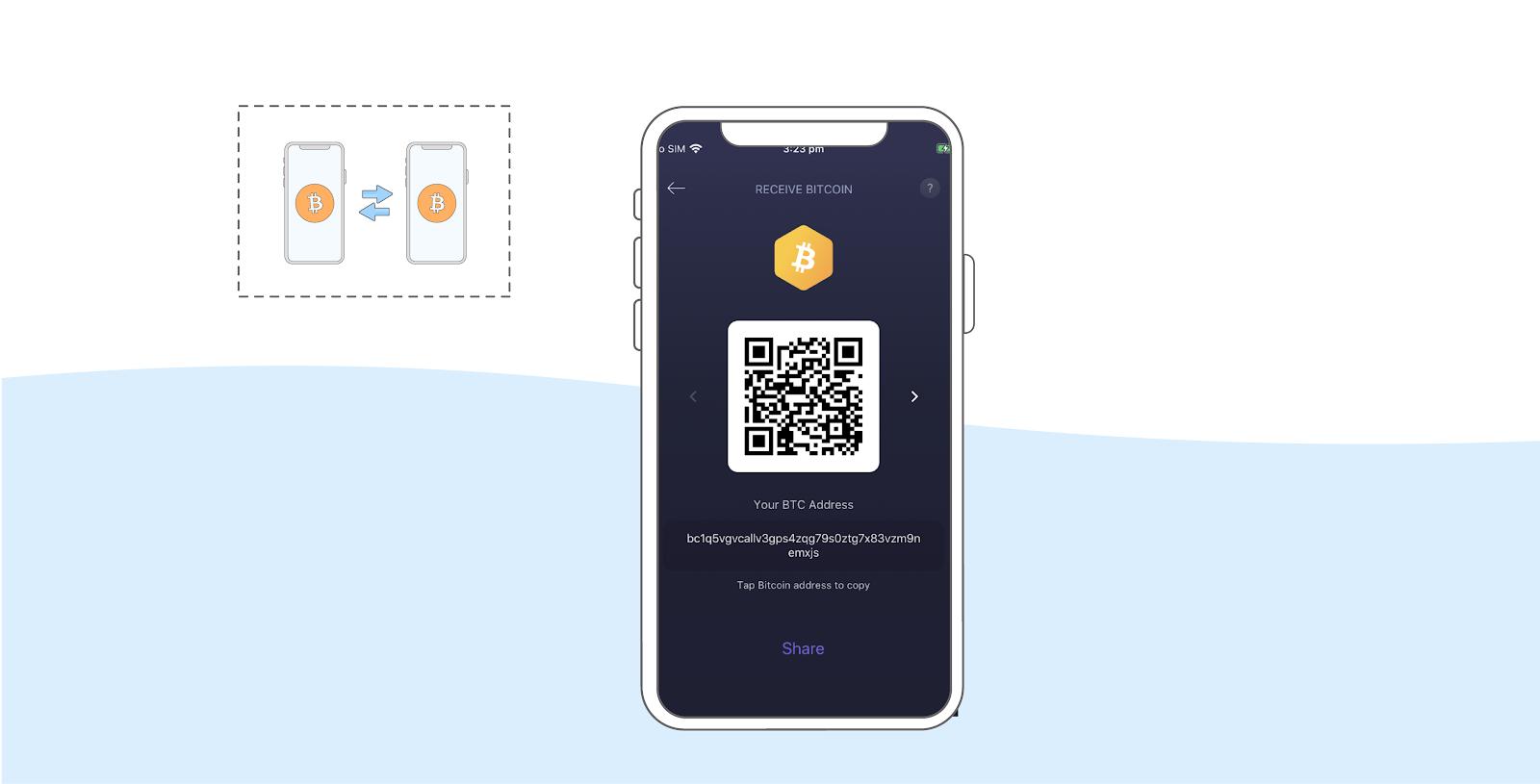 QR Bitcoin bitgalea