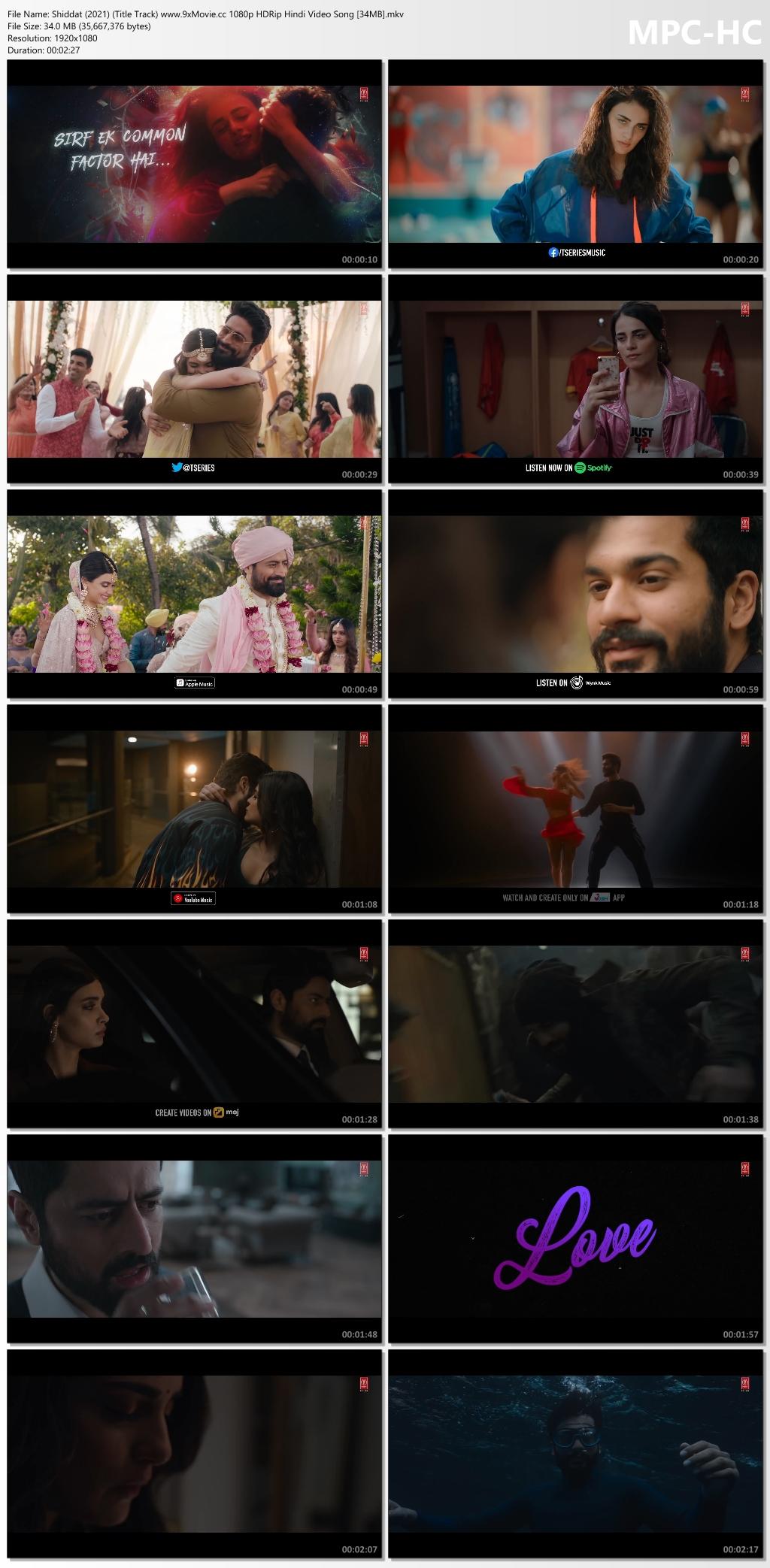 Shiddat-2021-Title-Track-www-9x-Movie-cc-1080p-HDRip-Hindi-Video-Song-34-MB-mkv