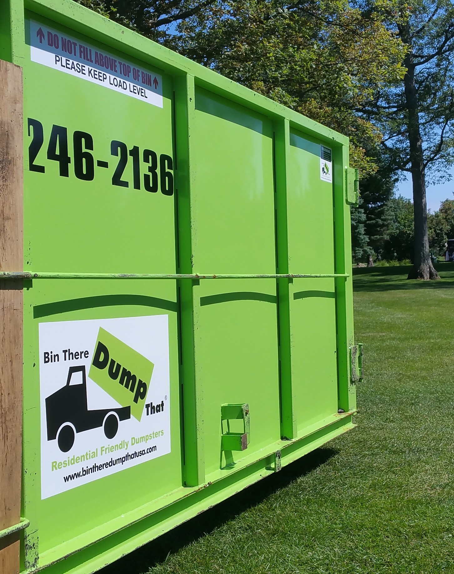 dumpster rental from bin there dump that western new york