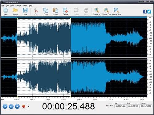Program4Pc DJ Audio Editor 7.6