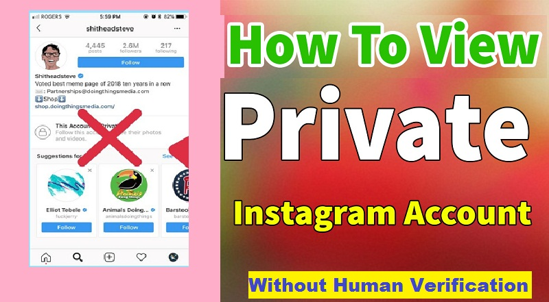 View-Private-Instagram-Without-Human-Verification