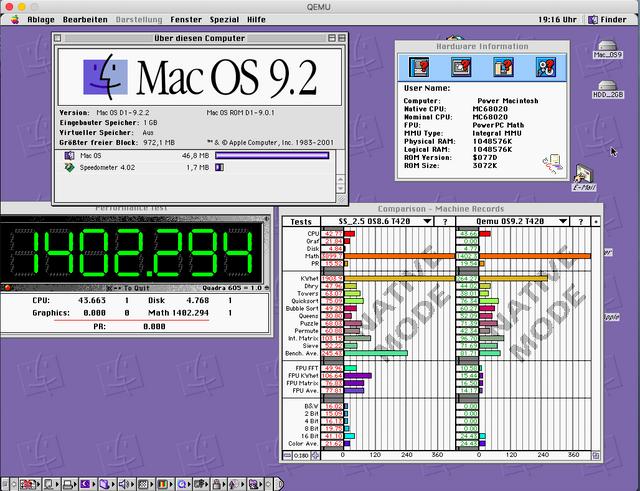 Qemu 2019 port, someone with success executing it? - Macintosh Garden