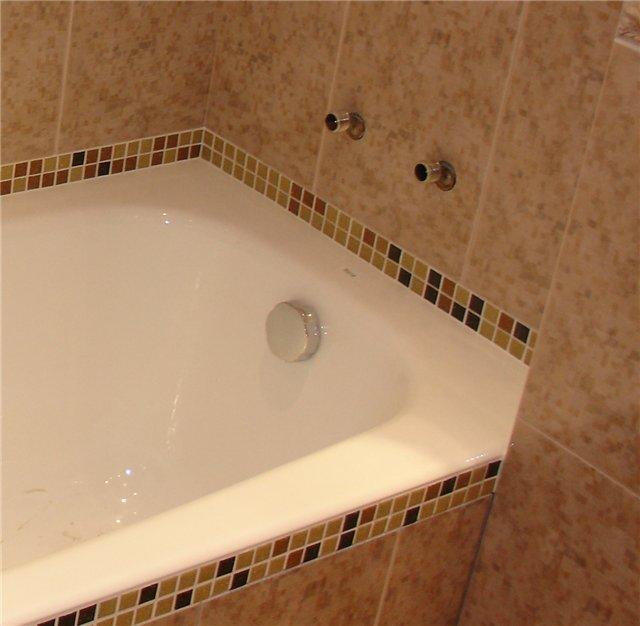 Затирка швов в ванной