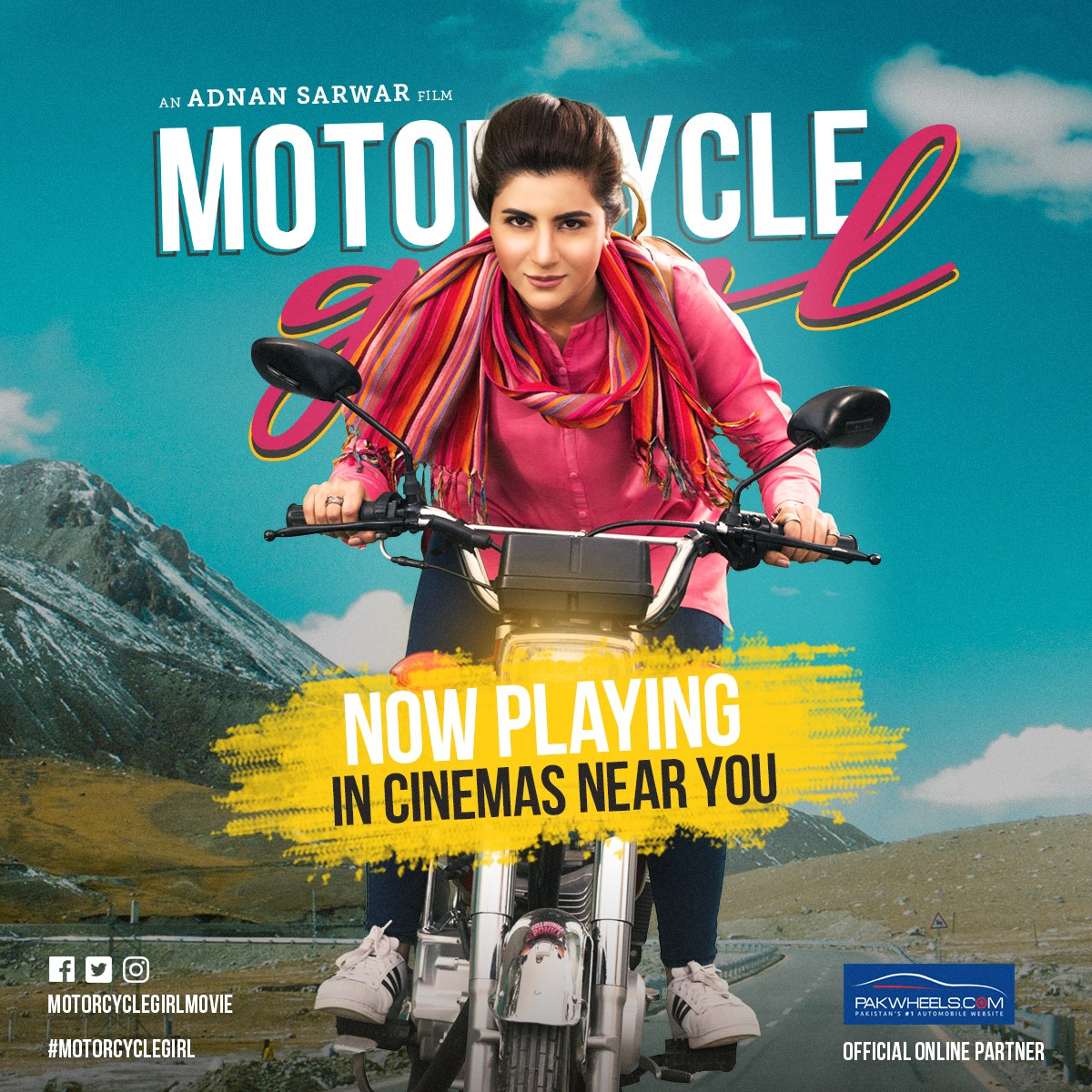 Motorcycle Girl (2018) Urdu Movie 720p HDRip 600MB Download