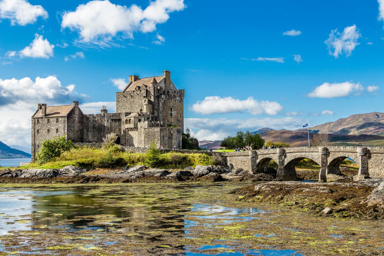Eilean Donan Castle Dornie, Scottish Highlands