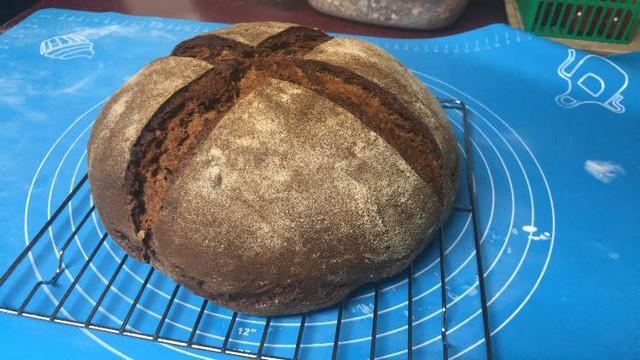 pumpernickel-loaf