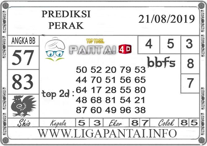 """PREDIKSI TOGEL """"PERAK"""" PANTAI4D 21 AGUSTUS 2019"""