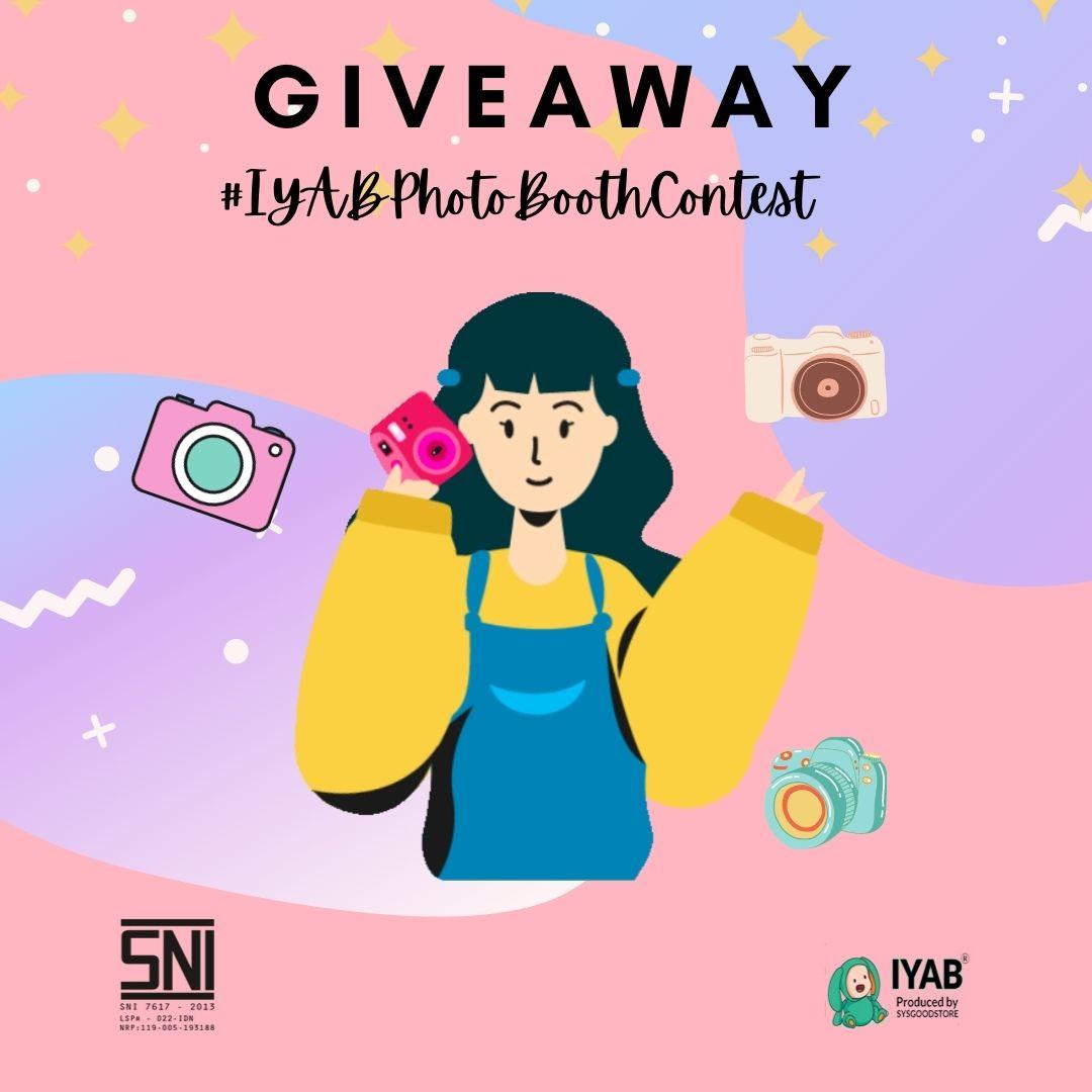 iyab babywear photo booth contest 2021