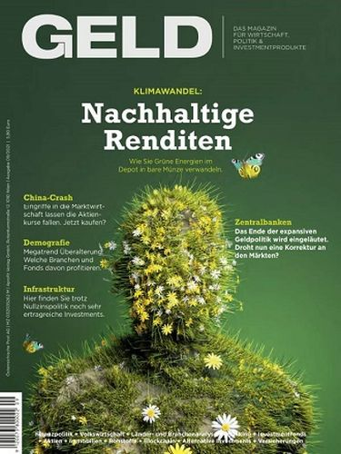 Cover: Geld Wirtschaftsmagazin No 09 September 2021