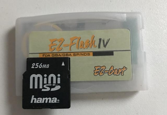 [VENDU] linker GameBoy Advance EZ flash IV + MiniSD 256Mb : 20€ FDPIN IMG-4278
