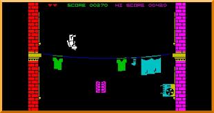 Pantalla de prueba en el videojuego de Collin.