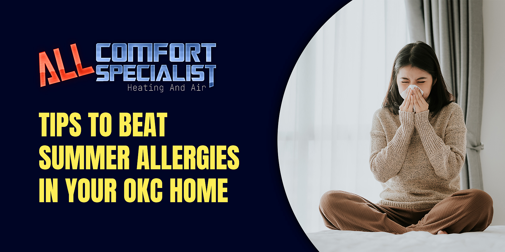 Tips to Beat Summer Allergies in Your OKC Home