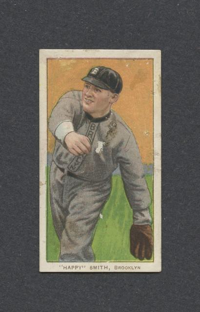 1909-11-T206-Happy-Smith-Lenox-F