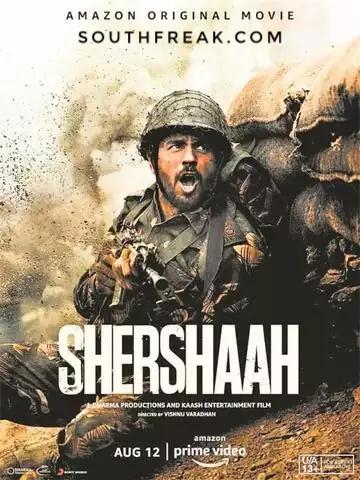Shershaah 2021 Hindi 720p AMZN WEB-DL 1.2GB ESub