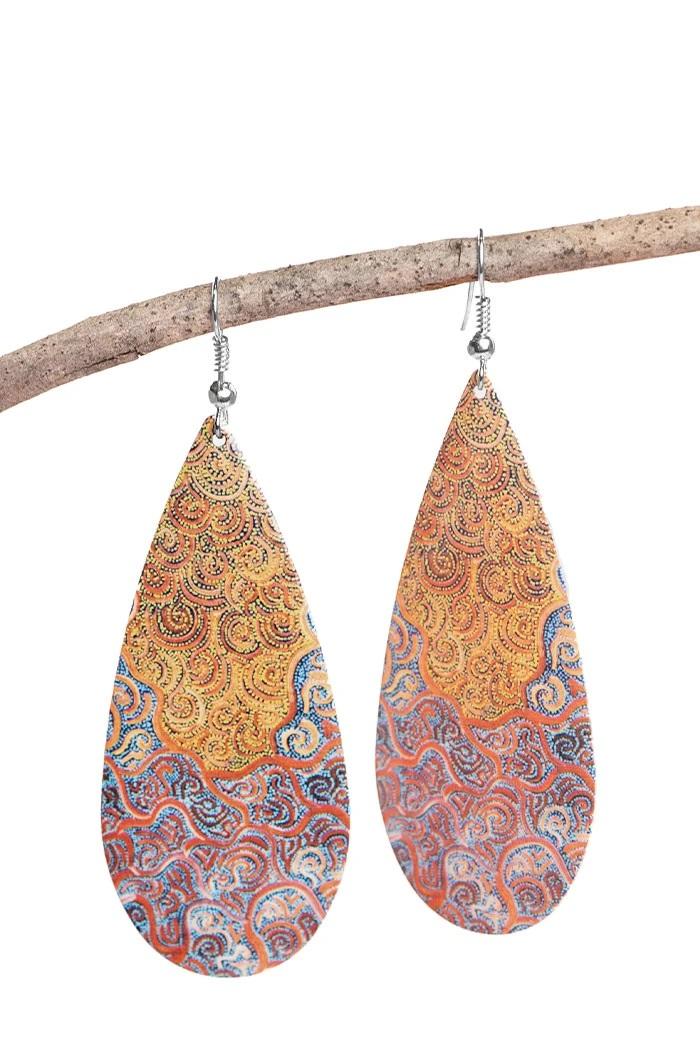 Tribal Earrings | Beanstalk Single Mums