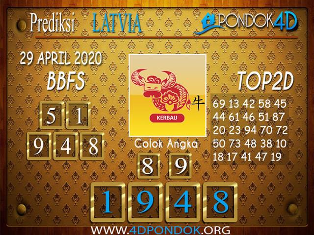 Prediksi Togel LATVIA POOLS PONDOK4D 29 APRIL 2020